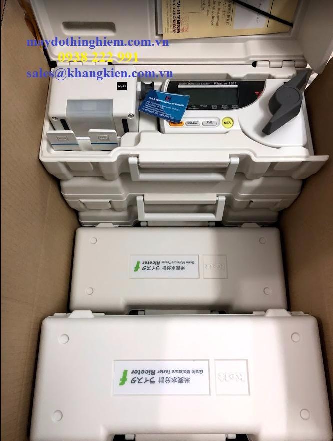 Hướng dẫn sử dụng máy đo độ ẩm gạo nông sản Kett F511