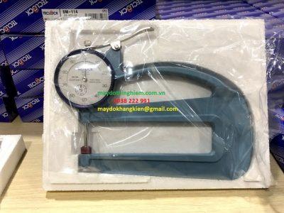 Đồng hồ đo độ dày Teclock SM-124.jpg