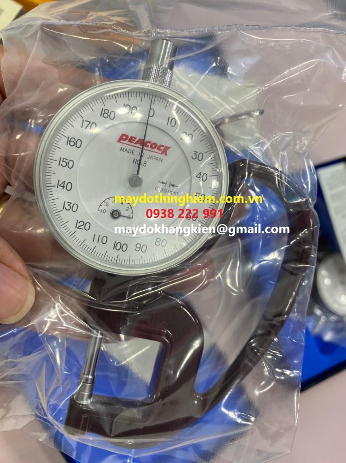 Đồng hồ đo độ dày 0.001mm Peacock G6.jpg