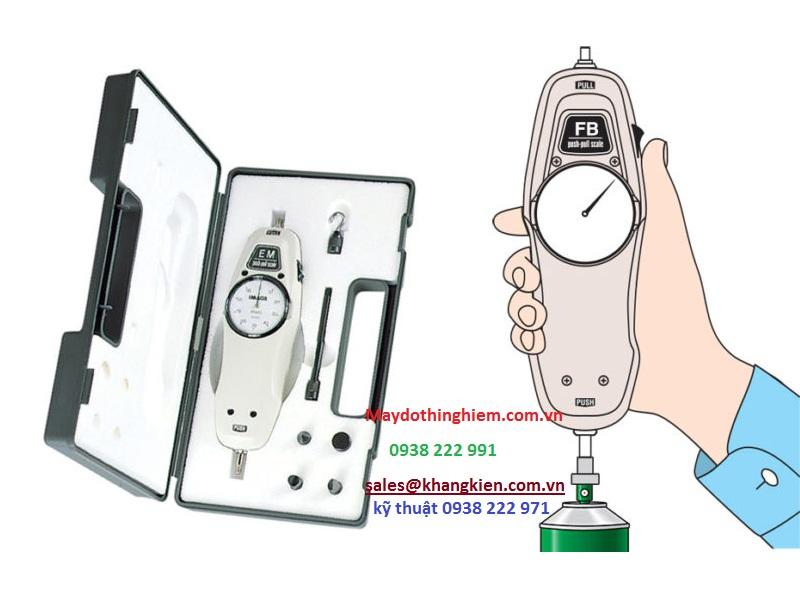 Hướng dẫn sử dụng máy đo lực kéo đẩy cầm tay IMADA FB-500N