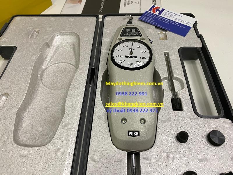 Hướng dẫn sử dụng máy đo lực kéo đẩy cầm tay IMADA FB-500N - maydothinghiem.com.vn