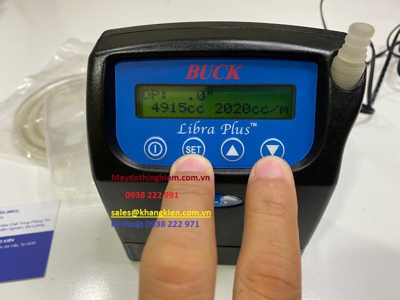 Buck LP5 nhấn giữ SET và bấm phím lên xuống để tăng giảm giá trị
