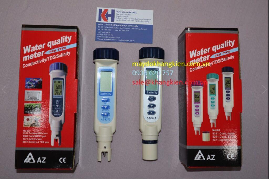 Điểm khác biệt trên bút đo độ mặn AZ8371 và AZ8372 - Bút đo độ mặn tốt nhất, nhập khẩu