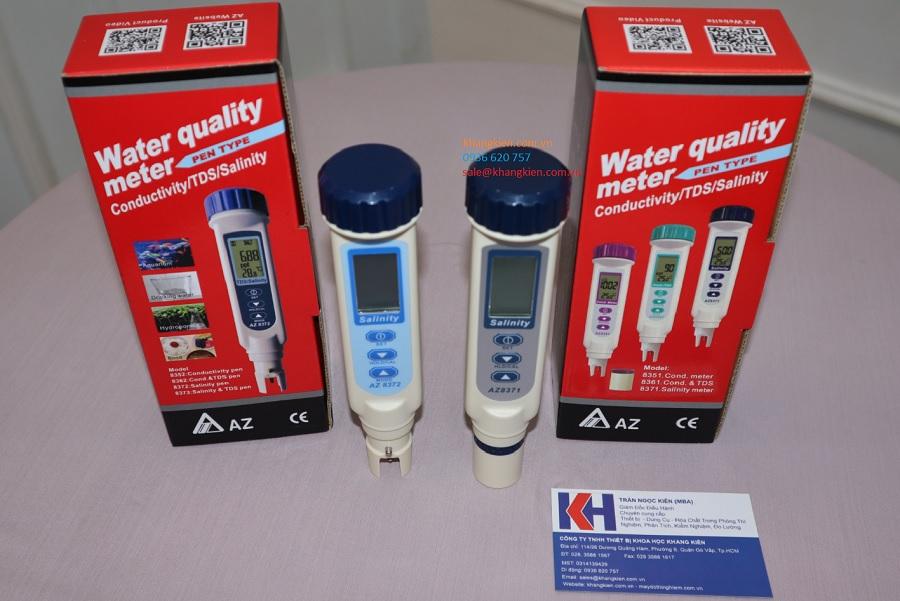 So sánh bút đo độ mặn AZ8371 và AZ8372