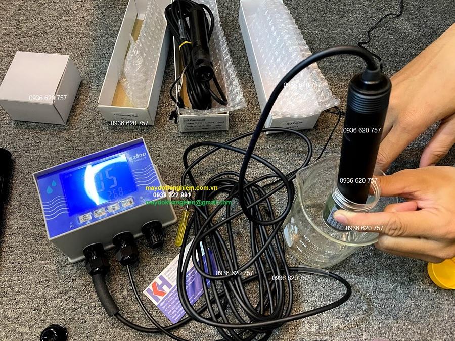 Cách sử dụng máy đo Online PCW 3000A Đo pH TDS DO SALT Cond