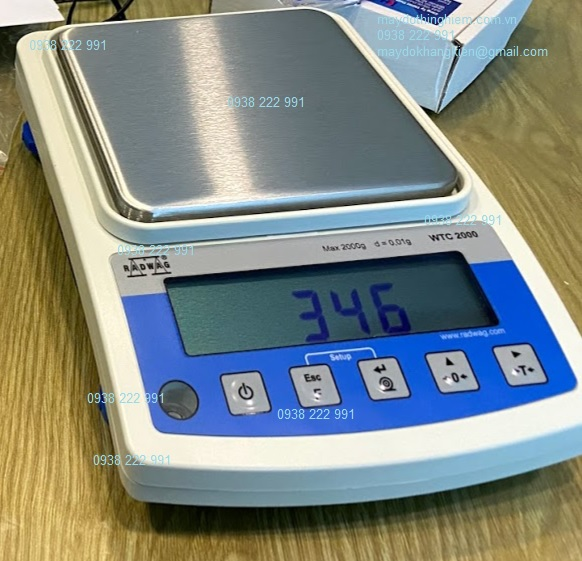 Cân chính xác WTC cho phép đo khối lượng nhanh chóng