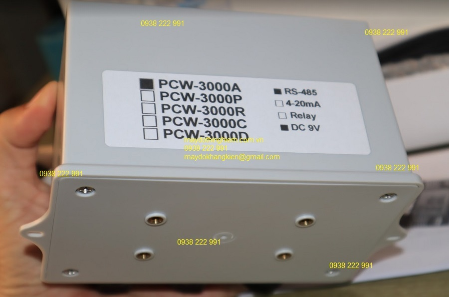 Máy đo điện tử PCW 3000A online mode 3 đầu