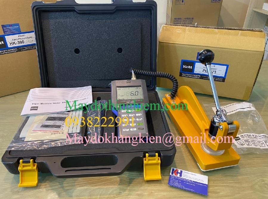 Máy đo độ ẩm giấy HK 300-3 màn hình LCD