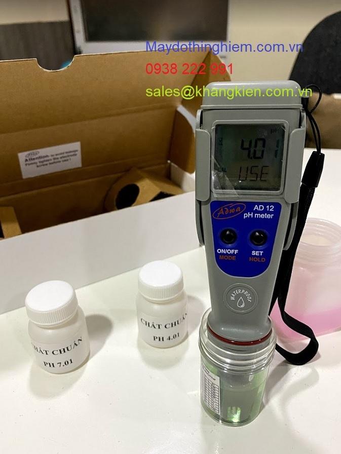 Máy đo pH nước và nhiệt độ AD 12