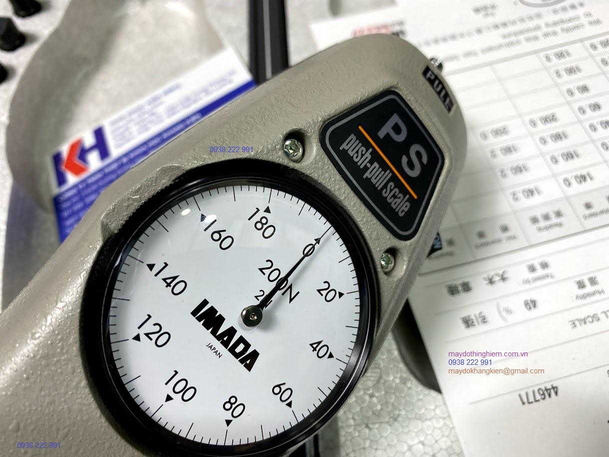 Máy đo lực kéo đẩy PS-200N Imada