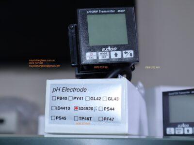 4803P hiển thị trạng thái của điện cực