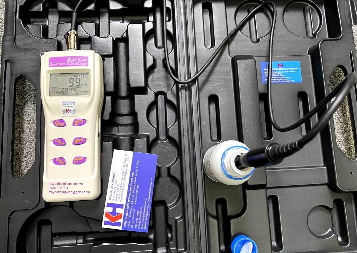 Hướng dẫn sử dụng máy đo độ mặn COND TDS AZ 8306