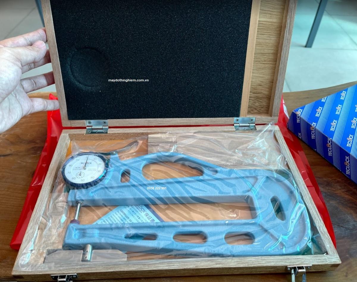 Giới thiệu về Teclock đo độ dày.