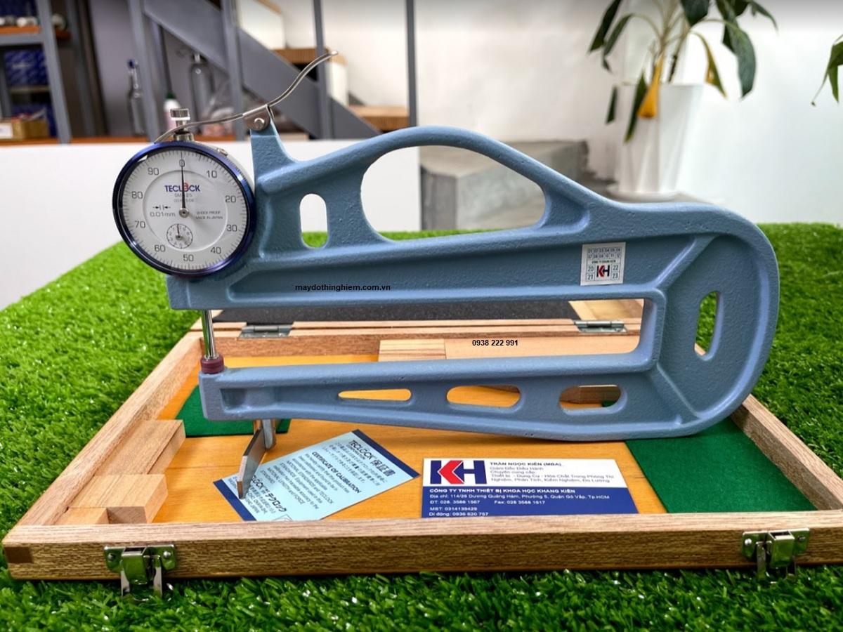 Hướng dẫn cơ bản sử dụng về đồng hồ đo độ dày teclock