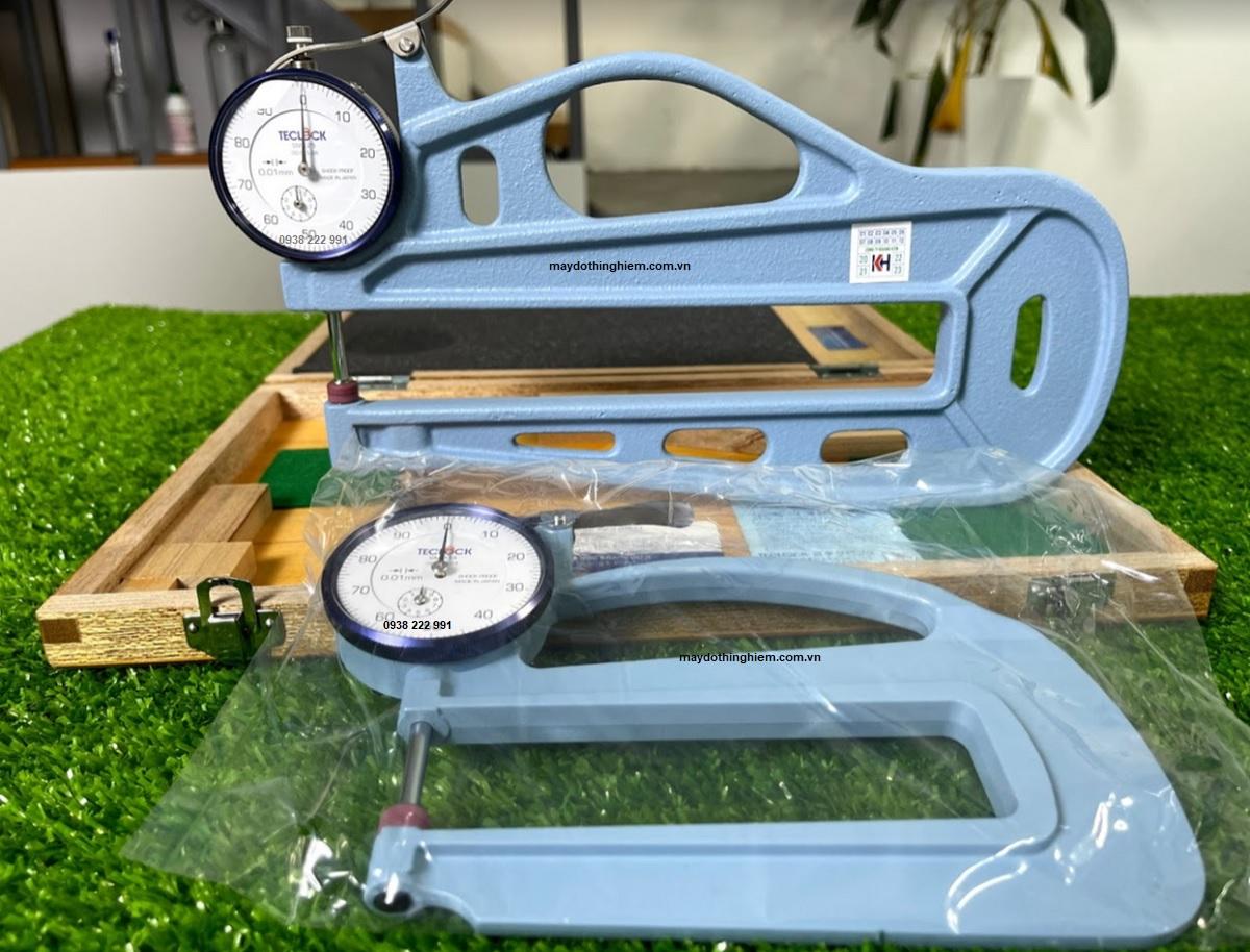 So sánh đồng hồ đo độ dày Teclock SM-125 và SM-114