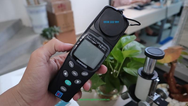Hướng dẫn sử dụng máy đo cường độ ánh sáng Tenmars TM-203