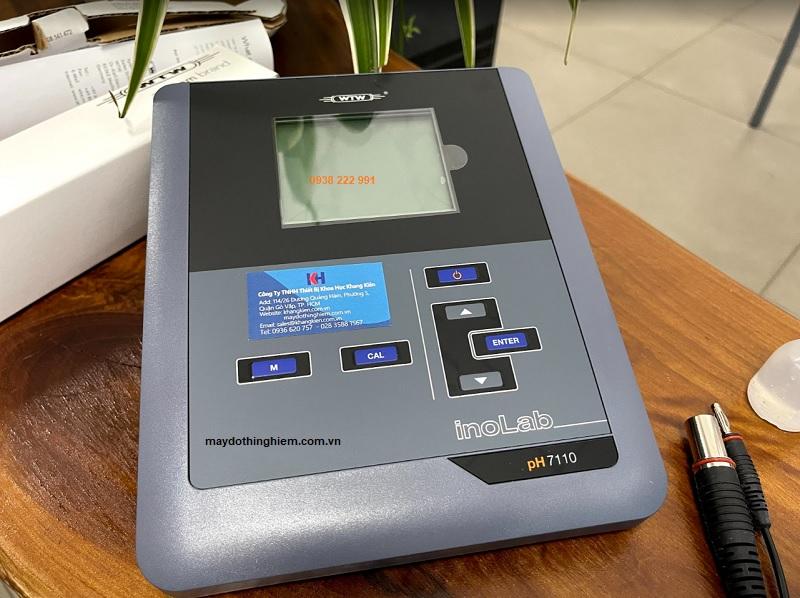 Hướng dẫn sử dụng máy đo pH Inolab 7110