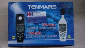 Lưu ý của máy đo cường độ ánh sáng Tenmars MT-203