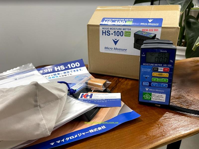 Đo độ ẩm gỗ công nghiệp - Hướng dẫn sử dụng máy đo độ ẩm gỗ HS100 Micro Measure