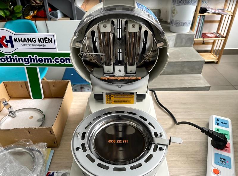 Hướng dẫn sử dụng cân sấy ẩm Kett FD-720 Nút thay đổi 2 bộ nguồn 220V hoặc 120V